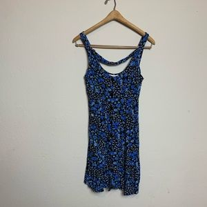 Urban Outfitters |One & Only| Blue Flowered Dress